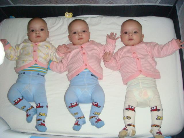 тройняшки SERAY