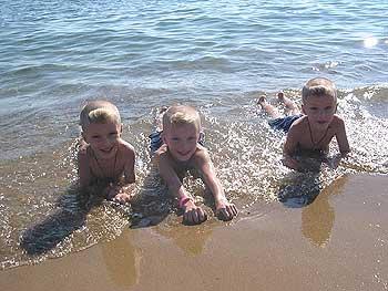 Средиземное море, Турция, октябрь 2004г